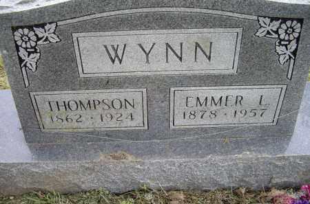 WYNN, EMMER L. - Lawrence County, Arkansas | EMMER L. WYNN - Arkansas Gravestone Photos