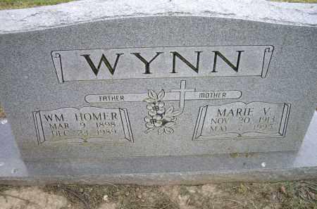 WYNN, MARIE V. - Lawrence County, Arkansas | MARIE V. WYNN - Arkansas Gravestone Photos