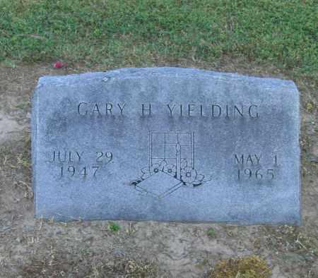YIELDING, GARY H. - Lawrence County, Arkansas | GARY H. YIELDING - Arkansas Gravestone Photos
