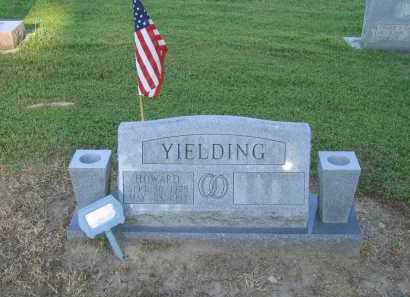 YIELDING (VETERAN WWII), HOWARD - Lawrence County, Arkansas | HOWARD YIELDING (VETERAN WWII) - Arkansas Gravestone Photos