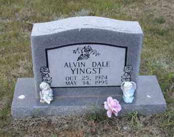 YINGST, ALVIN DALE - Lawrence County, Arkansas   ALVIN DALE YINGST - Arkansas Gravestone Photos