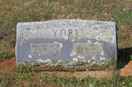 YORK, MILLARD OWEN - Lawrence County, Arkansas | MILLARD OWEN YORK - Arkansas Gravestone Photos