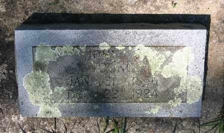 YOUNG, JOHN R. - Lawrence County, Arkansas   JOHN R. YOUNG - Arkansas Gravestone Photos