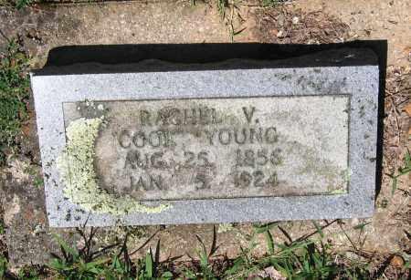COOK YOUNG, RACHEL V. - Lawrence County, Arkansas | RACHEL V. COOK YOUNG - Arkansas Gravestone Photos