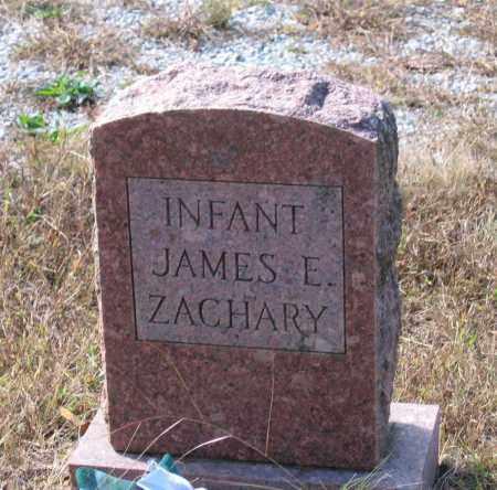 ZACHARY, JAMES E. - Lawrence County, Arkansas | JAMES E. ZACHARY - Arkansas Gravestone Photos