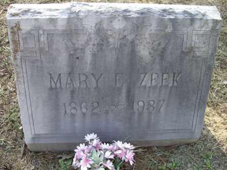 ZEEK, MARY E. - Lawrence County, Arkansas   MARY E. ZEEK - Arkansas Gravestone Photos