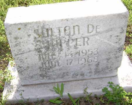 PIPPER, SULTAN DE - Lawrence County, Arkansas | SULTAN DE PIPPER - Arkansas Gravestone Photos