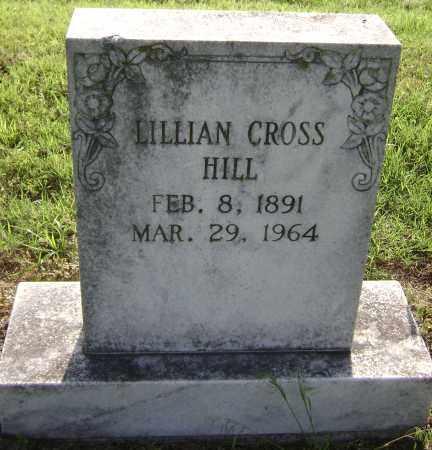 CROSS HILL, LILLIAN - Lawrence County, Arkansas | LILLIAN CROSS HILL - Arkansas Gravestone Photos