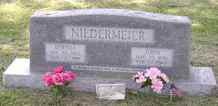 NIEDERMEIER, JOHN - Lawrence County, Arkansas | JOHN NIEDERMEIER - Arkansas Gravestone Photos