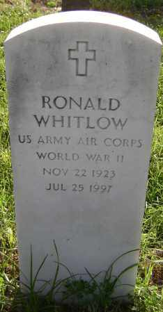 WHITLOW (VETERAN WWII), RONALD - Lawrence County, Arkansas | RONALD WHITLOW (VETERAN WWII) - Arkansas Gravestone Photos