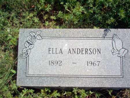 ANDERSON, ELLA - Lee County, Arkansas | ELLA ANDERSON - Arkansas Gravestone Photos