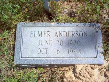 ANDERSON, ELMER - Lee County, Arkansas | ELMER ANDERSON - Arkansas Gravestone Photos