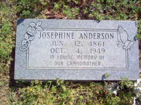 ANDERSON, JOSEPHINE - Lee County, Arkansas   JOSEPHINE ANDERSON - Arkansas Gravestone Photos