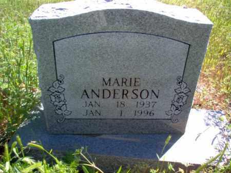 ANDERSON, MARIE - Lee County, Arkansas | MARIE ANDERSON - Arkansas Gravestone Photos