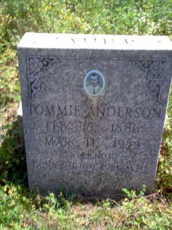 ANDERSON, TOMMIE - Lee County, Arkansas | TOMMIE ANDERSON - Arkansas Gravestone Photos