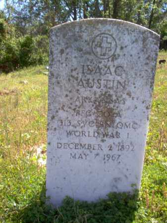 AUSTIN (VETERAN WWI), ISAAC - Lee County, Arkansas | ISAAC AUSTIN (VETERAN WWI) - Arkansas Gravestone Photos