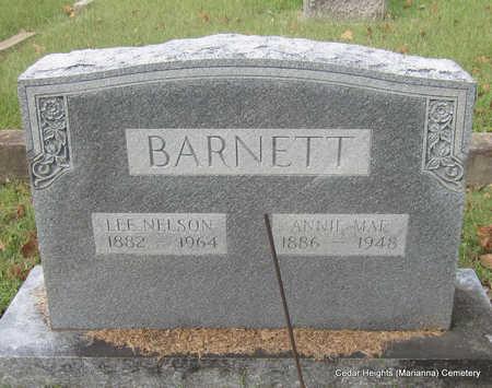 BARNETT, LEE NELSON - Lee County, Arkansas | LEE NELSON BARNETT - Arkansas Gravestone Photos