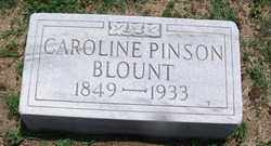 PINSON BLOUNT, CAROLINE - Lee County, Arkansas | CAROLINE PINSON BLOUNT - Arkansas Gravestone Photos