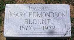 EDMONDSON BLOUNT, MARY - Lee County, Arkansas | MARY EDMONDSON BLOUNT - Arkansas Gravestone Photos