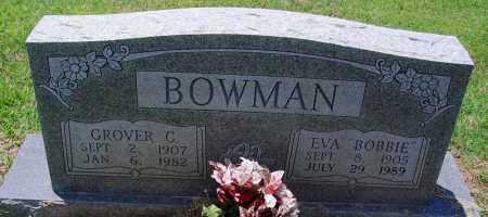 "BOWMAN, EVA ""BOBBIE"" - Lee County, Arkansas | EVA ""BOBBIE"" BOWMAN - Arkansas Gravestone Photos"