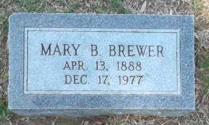 BREWER, MARY B - Lee County, Arkansas | MARY B BREWER - Arkansas Gravestone Photos