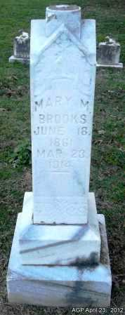BROOKS, MARY M - Lee County, Arkansas | MARY M BROOKS - Arkansas Gravestone Photos