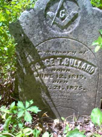 BULLARD, GEORGE T - Lee County, Arkansas | GEORGE T BULLARD - Arkansas Gravestone Photos