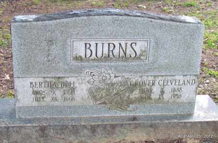 BURNS, GROVER CLEVELAND - Lee County, Arkansas | GROVER CLEVELAND BURNS - Arkansas Gravestone Photos