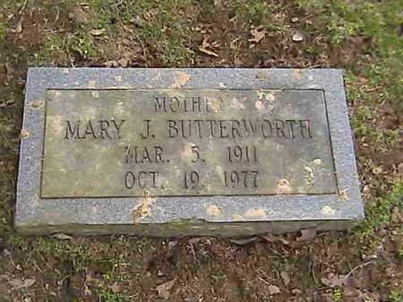 BUTTERWORTH, MARY J. - Lee County, Arkansas   MARY J. BUTTERWORTH - Arkansas Gravestone Photos