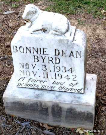 BYRD, BONNIE DEAN - Lee County, Arkansas | BONNIE DEAN BYRD - Arkansas Gravestone Photos