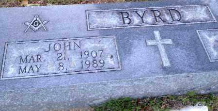BYRD, JOHN - Lee County, Arkansas | JOHN BYRD - Arkansas Gravestone Photos