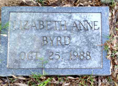 BYRD, LIZABETH ANNE - Lee County, Arkansas | LIZABETH ANNE BYRD - Arkansas Gravestone Photos