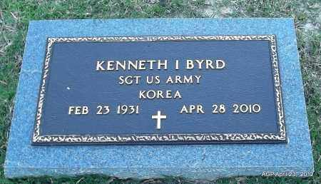 BYRD (VETERAN KOR), KENNETH I - Lee County, Arkansas | KENNETH I BYRD (VETERAN KOR) - Arkansas Gravestone Photos