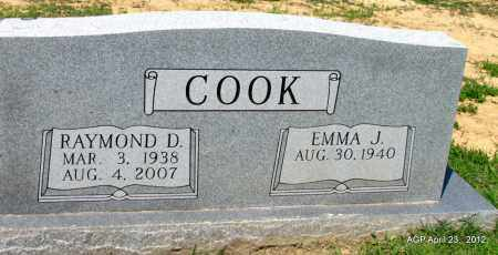 COOK, RAYMOND D - Lee County, Arkansas | RAYMOND D COOK - Arkansas Gravestone Photos
