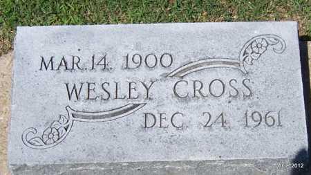 CROSS, WESLEY - Lee County, Arkansas | WESLEY CROSS - Arkansas Gravestone Photos