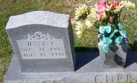 CUPP, JESSE L - Lee County, Arkansas | JESSE L CUPP - Arkansas Gravestone Photos