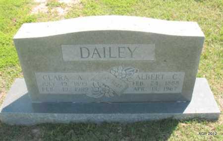 DAILEY, CLARA A - Lee County, Arkansas | CLARA A DAILEY - Arkansas Gravestone Photos