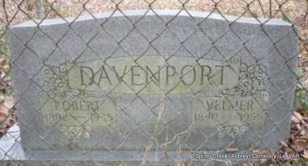 BREWER DAVENPORT, RUTH VELMA - Lee County, Arkansas | RUTH VELMA BREWER DAVENPORT - Arkansas Gravestone Photos