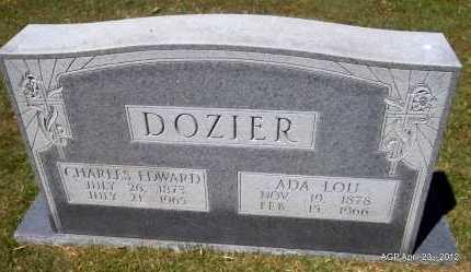 DOZIER, ADA LOU - Lee County, Arkansas | ADA LOU DOZIER - Arkansas Gravestone Photos
