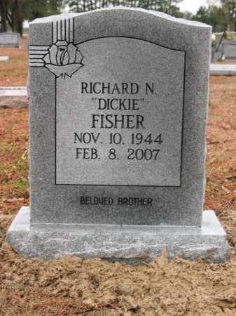 """FISHER, RICHARD NORRIS """"DICKIE"""" - Lee County, Arkansas 