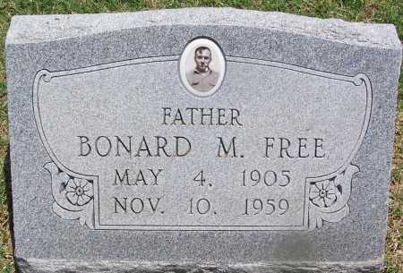 FREE, BONARD M - Lee County, Arkansas   BONARD M FREE - Arkansas Gravestone Photos