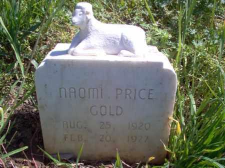 PRICE GOLD, NAOMI - Lee County, Arkansas | NAOMI PRICE GOLD - Arkansas Gravestone Photos