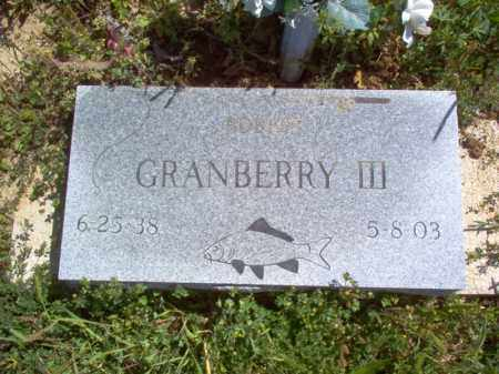 GRANBERRY III, ROBERT - Lee County, Arkansas | ROBERT GRANBERRY III - Arkansas Gravestone Photos