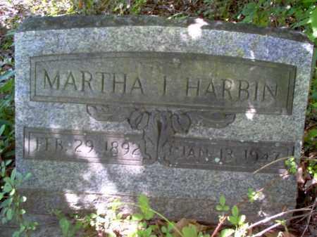 HARBIN, MARTHA I - Lee County, Arkansas   MARTHA I HARBIN - Arkansas Gravestone Photos