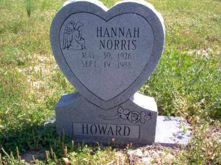 HOWARD, HANNAH - Lee County, Arkansas | HANNAH HOWARD - Arkansas Gravestone Photos