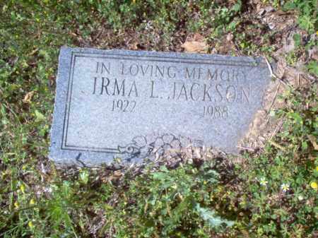 JACKSON, IRMA L - Lee County, Arkansas | IRMA L JACKSON - Arkansas Gravestone Photos