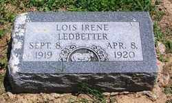 LEDBETTER, LOIS IRENE - Lee County, Arkansas | LOIS IRENE LEDBETTER - Arkansas Gravestone Photos