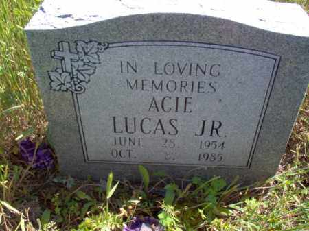 LUCAS, JR., ACIE - Lee County, Arkansas | ACIE LUCAS, JR. - Arkansas Gravestone Photos