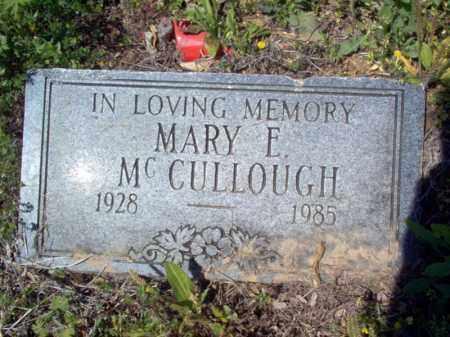 MCCULLOUGH, MARY E - Lee County, Arkansas   MARY E MCCULLOUGH - Arkansas Gravestone Photos