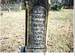 MCGREW, WILLIAM H. - Lee County, Arkansas | WILLIAM H. MCGREW - Arkansas Gravestone Photos